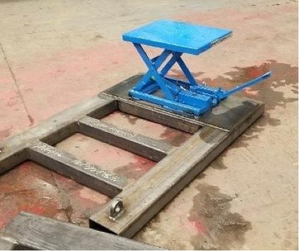 Heel Plate Installation Tool