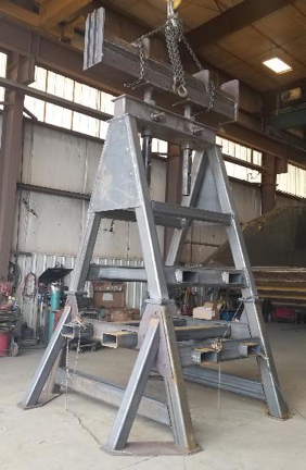 Universal Loader Arm Stand, full assembly