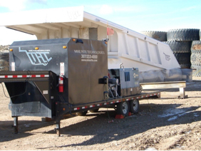 MRT has trailers outfitted to travel and weld where the demand is needed